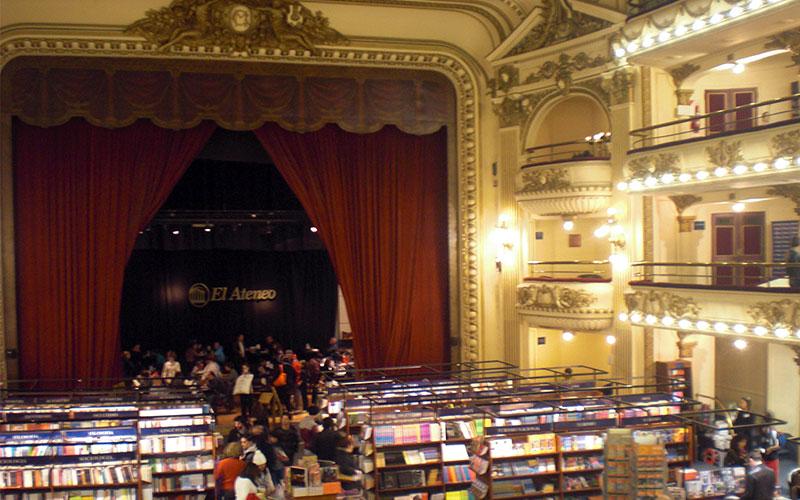 curiositats de buenos aires llibreria teatre