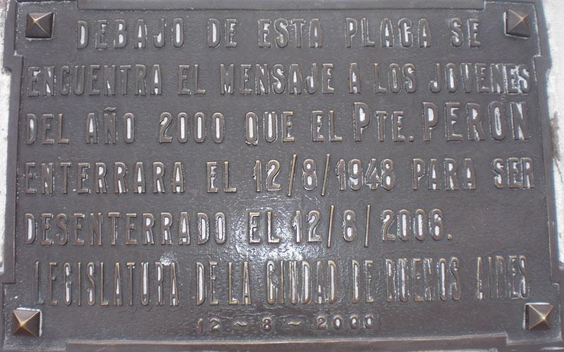 Secret de la Plaza de Mayo a Buenos Aires càpsula del temps