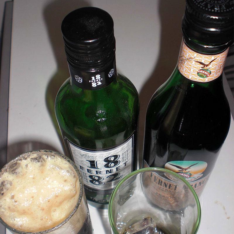 beure a l'argentina fernet