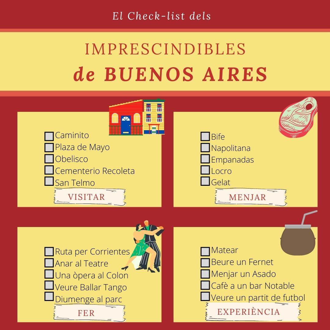 que fer a Buenos Aires, imperdibles