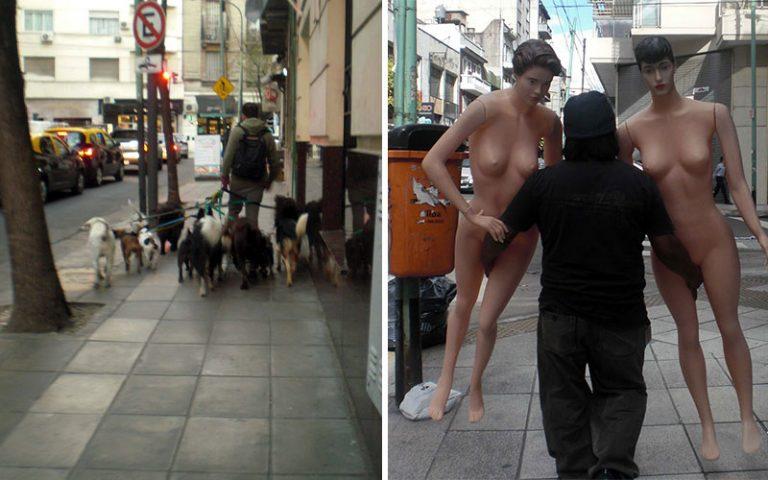 Coses que no t'esperes pel carrer de Buenos Aires
