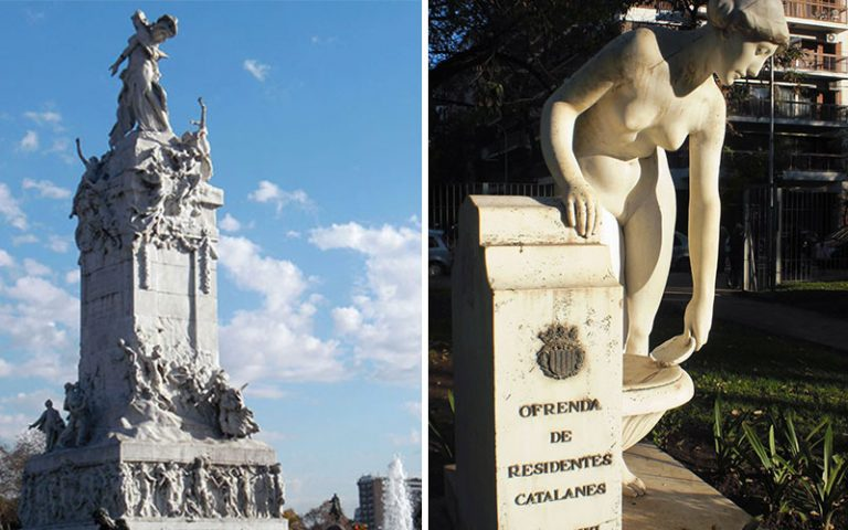 Alguns catalans a Argentina: Escultors