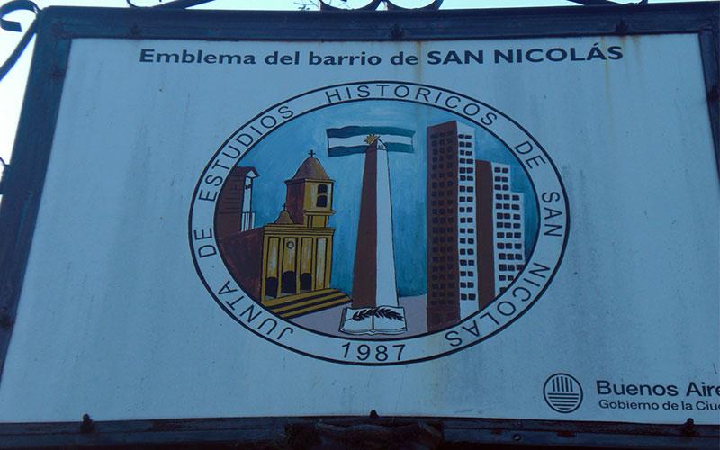 Ruta completa per San Nicolás