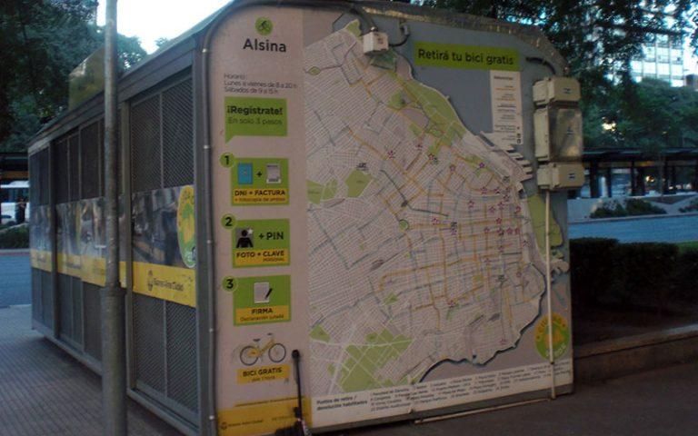 La bici i el BAicing de Buenos Aires