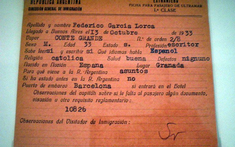 L'immigració a Argentina