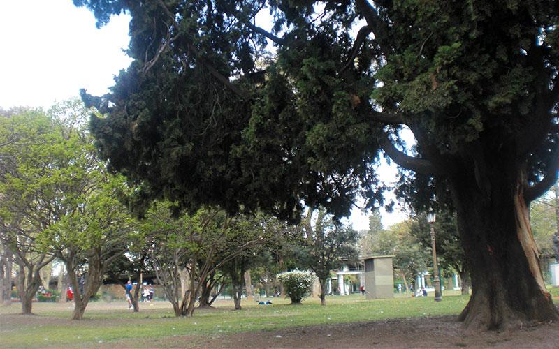 Ruta completa per Parque Chacabuco