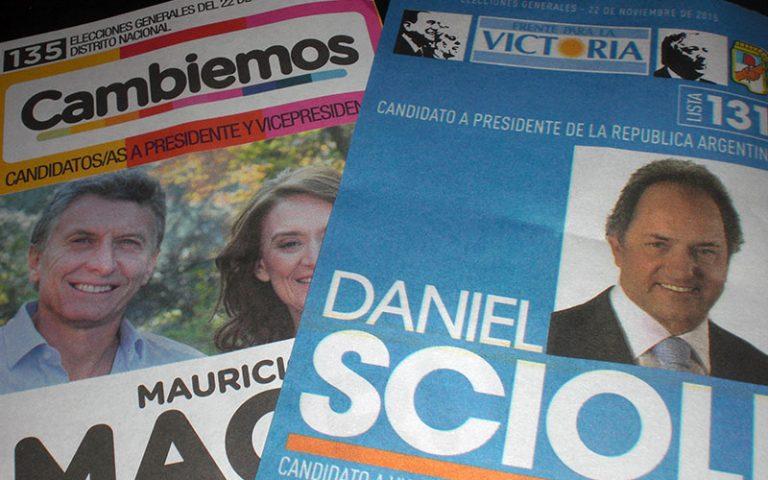 Les eleccions nacionals a l'Argentina
