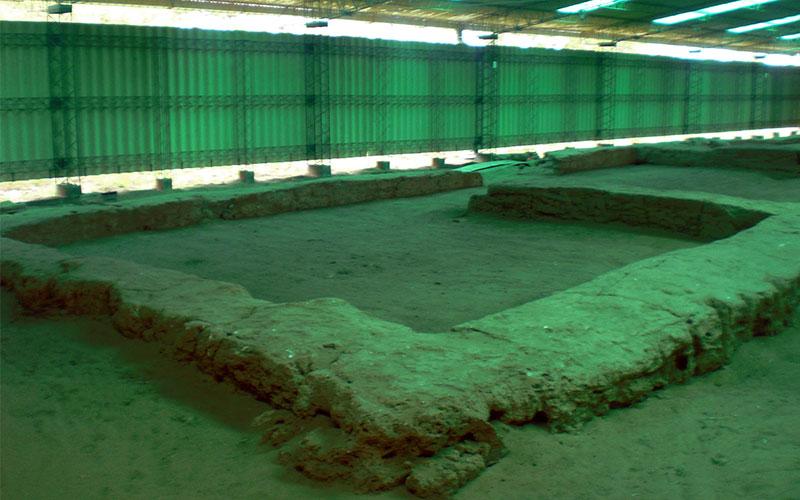 ruïnes de la ciutat de Santa Fe a l'Argentina