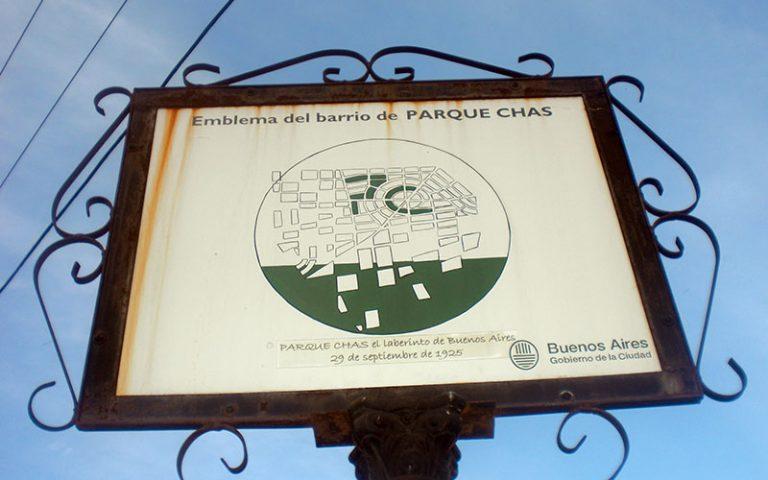 Ruta completa per Parque Chas