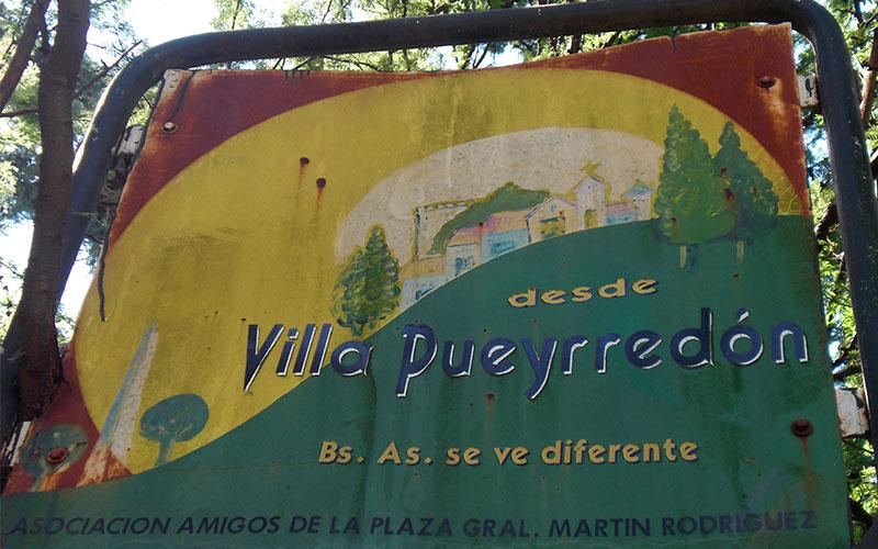 Ruta completa per Villa Pueyrredón