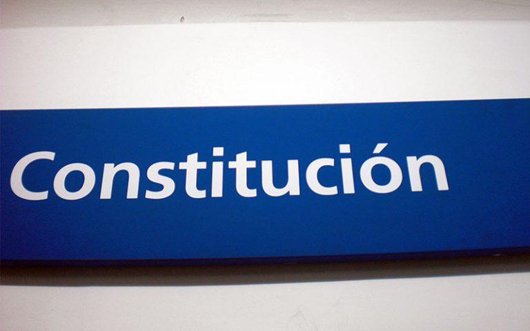 Ruta completa per Constitución