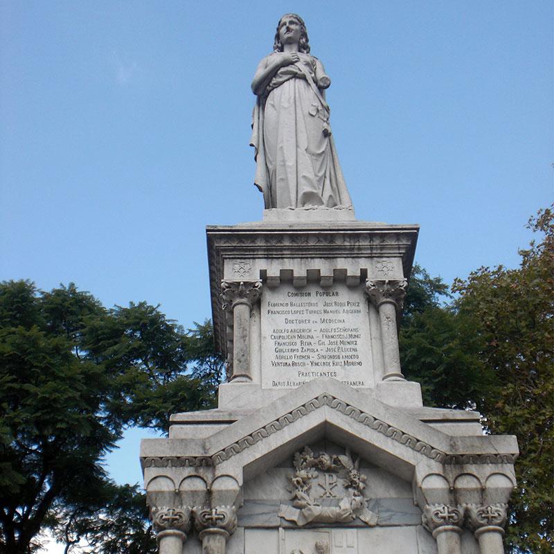 monuments als metges i caiguts durant la febre groga
