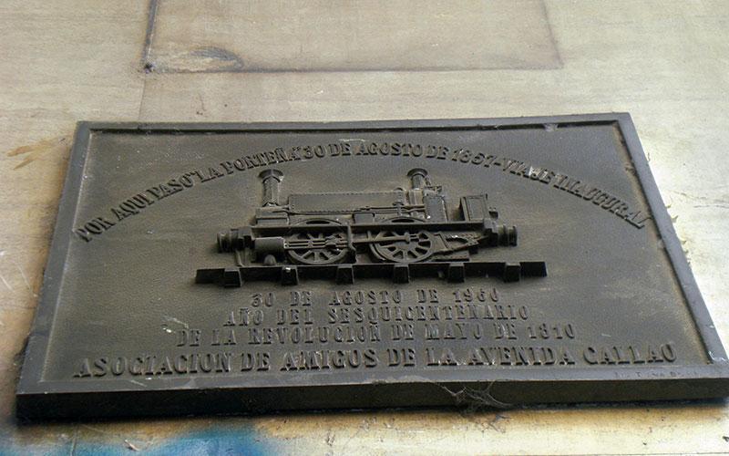 Ruta dels trens a Buenos Aires