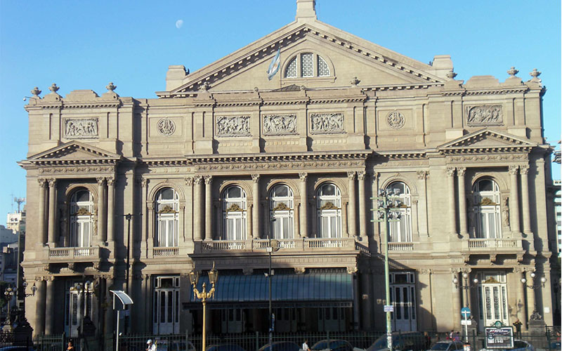 Imperdible a Buenos Aires, teatro colon