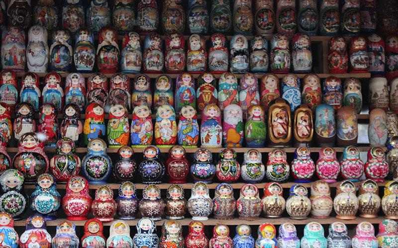 Coses que no t'esperes pels carrers de Rússia