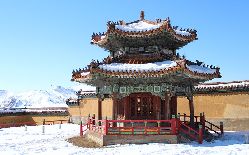 Monestir Amarbayasgalant Mongòlia