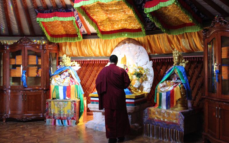 monjos budistes Amarbayasgalant