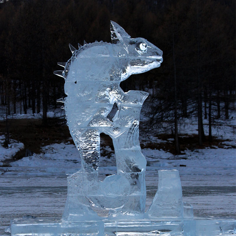 escultures gelades llac mongolia katghal