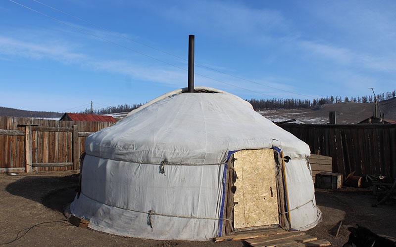 gher mongol típic
