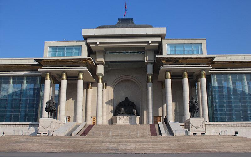 ulaan baatar mongolia genghis kaan