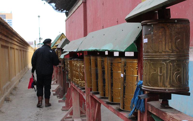 practica budista monestir mongolia
