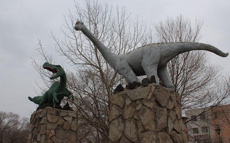 Dinousaures a Mongòlia