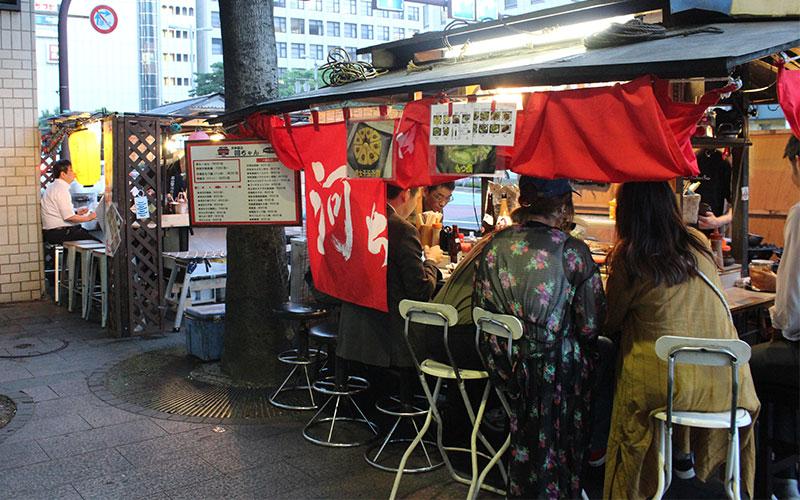 els Yatai de Fukuoka