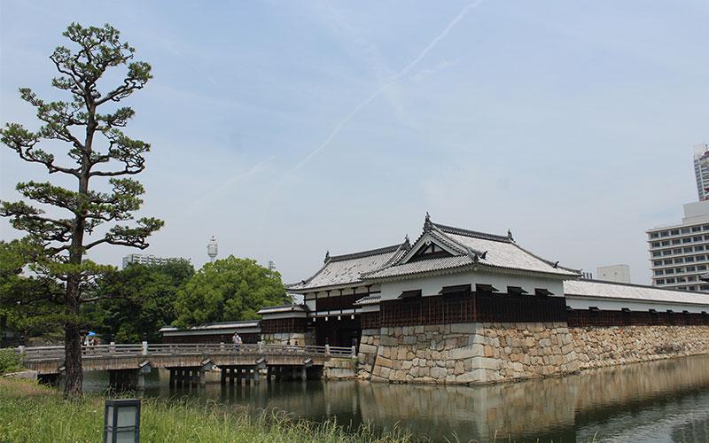 castell de hiroshima japo