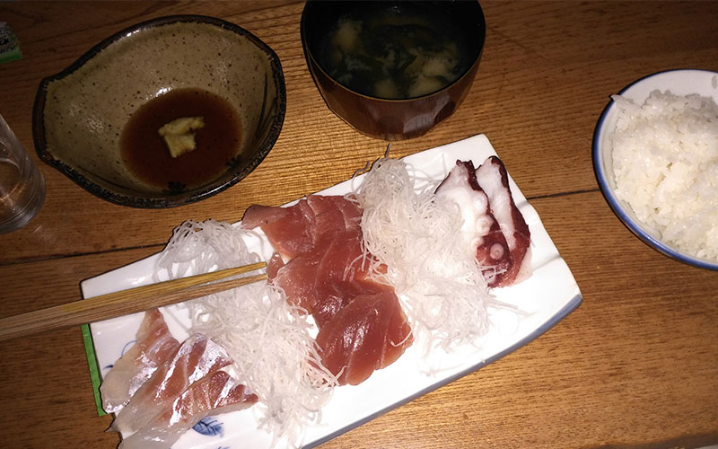 menjar a casa tipic japo