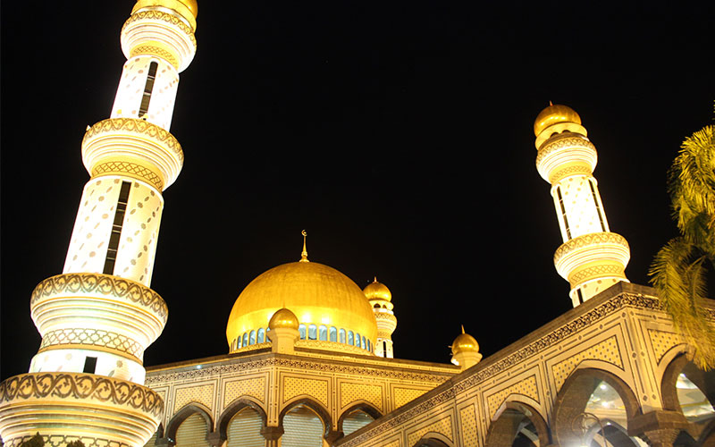 Brunei amb pressupost motxiller