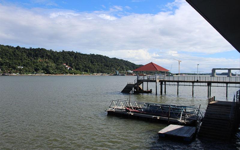 pobles d'aigua a Brunei