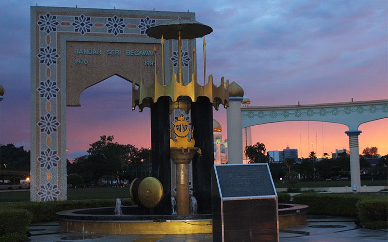 Brunei un país ric gracies al petroli