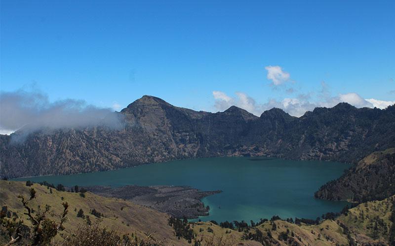 Pujar al volcà Rinjani per lliure i gratis