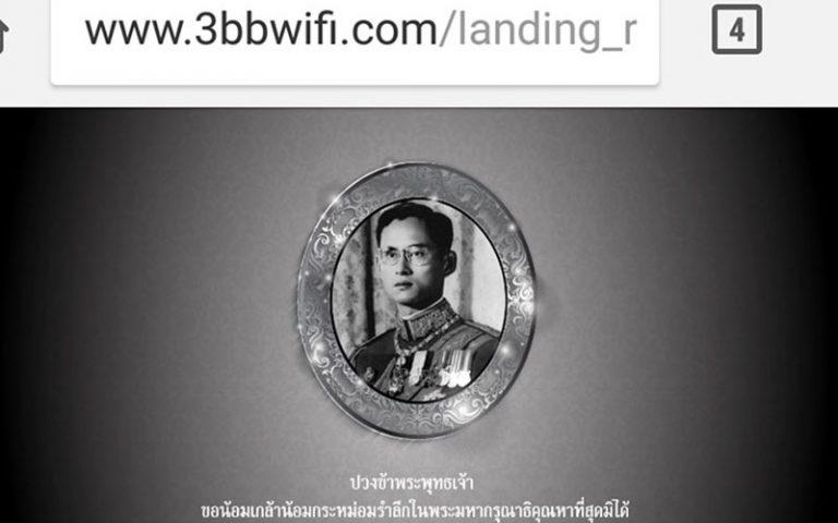 La figura del monarca a Tailàndia