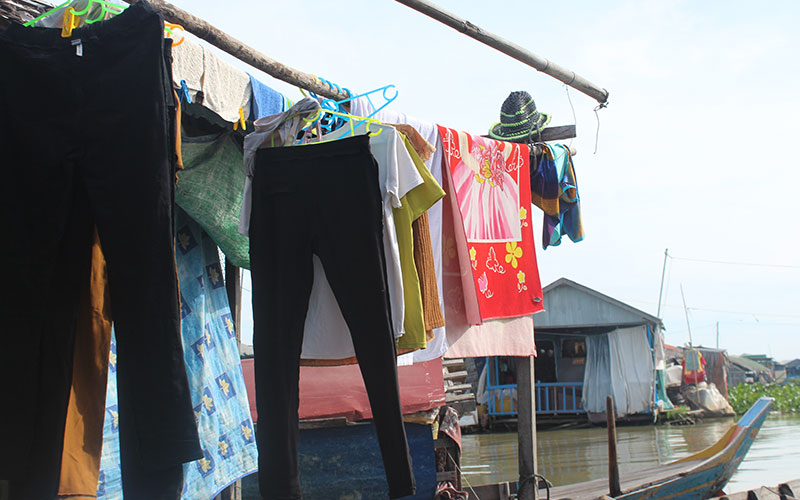 la vida a Kampong Chhnang Cambodja