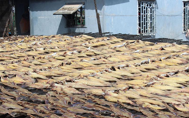 menjar sec Cambodja