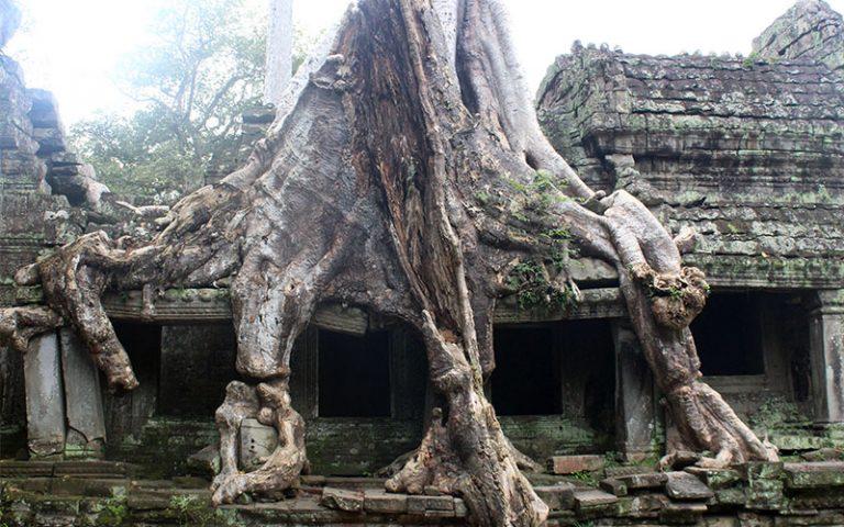 Siem Riep i la previa als Temples d'Angkor (Angkor Thom) (Cambodja)