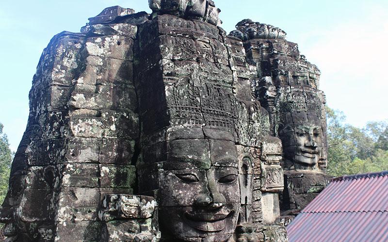 temple Bayon, Cambodja