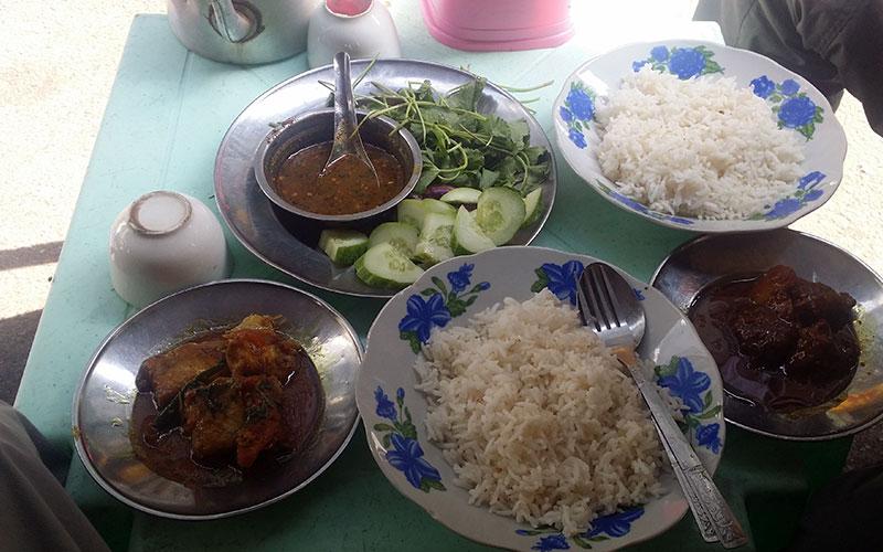 que menjar a Yangon