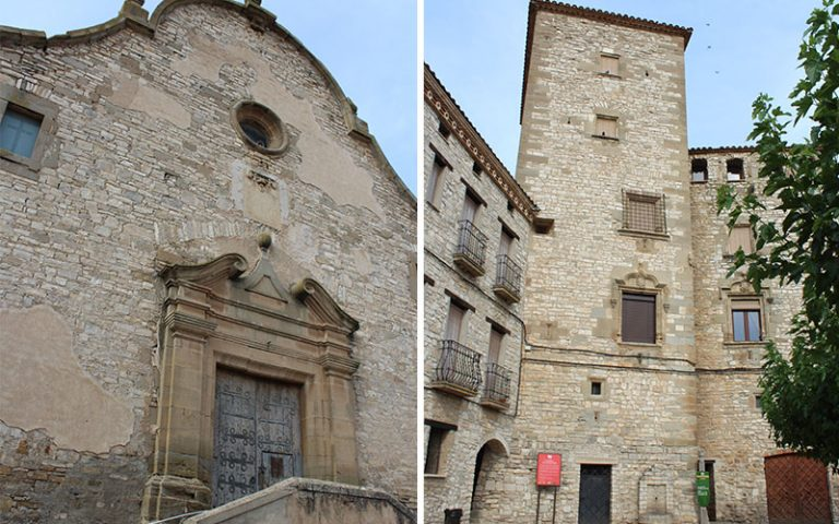 Les Oluges i Santa Fe (La Segarra)