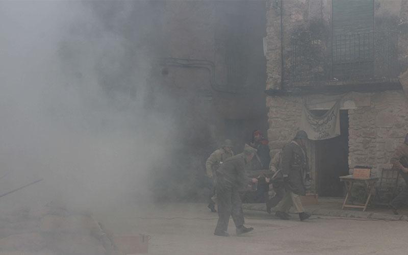 la granadella reproducció bombardeig guerra civil