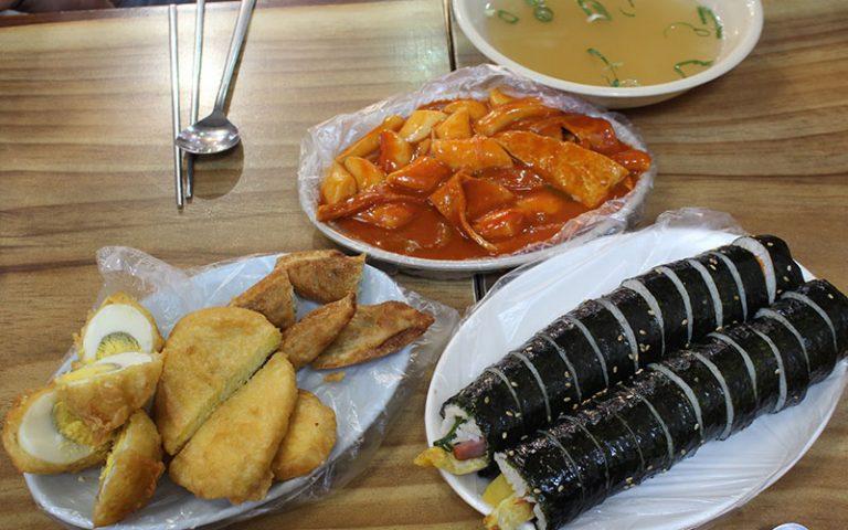 Què menjar a Corea del Sud