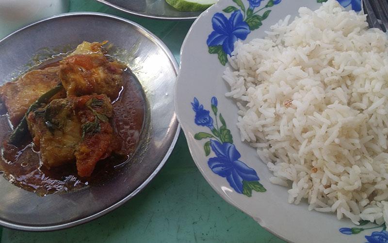 menjar típic de Myanmar
