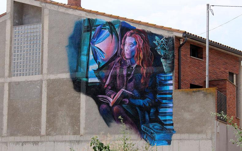 street art pla d'urgell els arcs