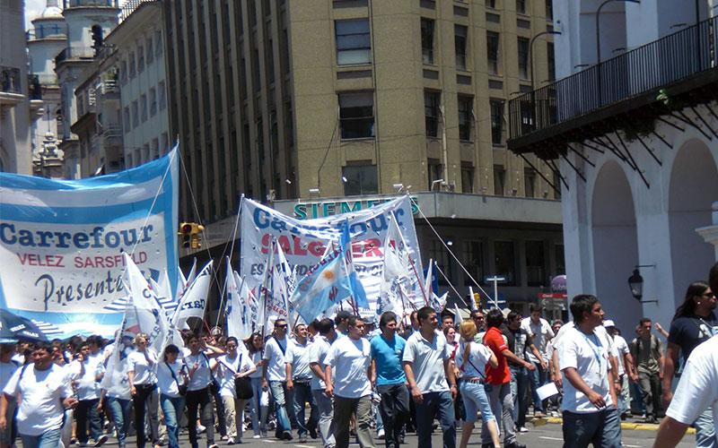 manifestacio a Buenos Aires