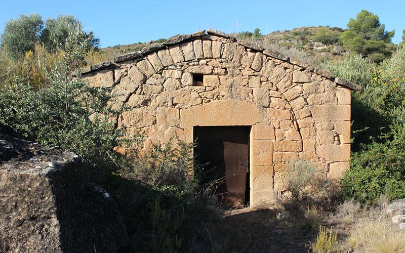 cabana de pedra seca al segrià