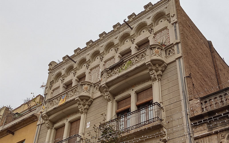cases modernistes de barcelona
