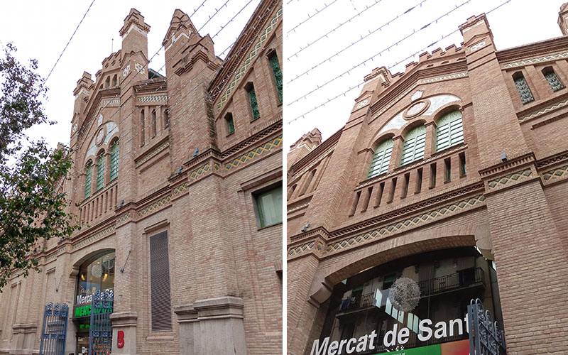mercat de Sants barcelona
