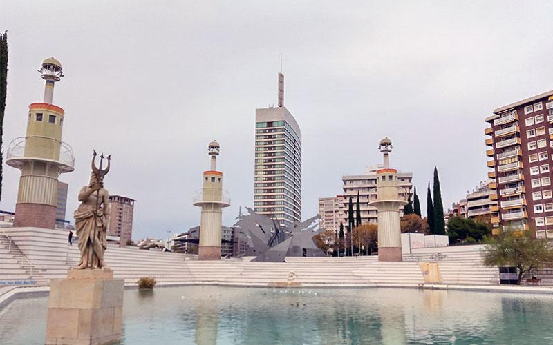 parc d'espanya barcelona