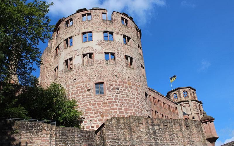 castell de Heidelberg